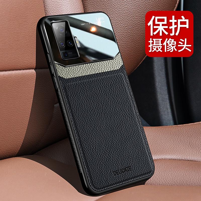VIvox 50携帯ケースの皮の保護シリカゲルカバーX 50 proレンズフルバック5 G研磨砂ソフトシェルの付属品