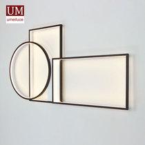 新中式壁灯北欧现代简约沙发背景墙灯创意客厅卧室LED装饰长壁灯