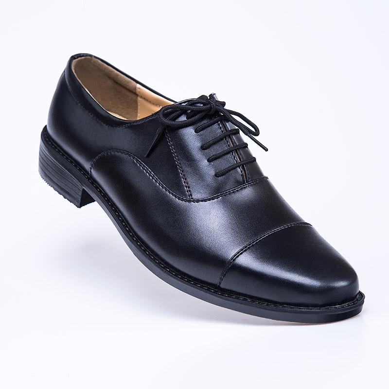 Dress 07B sergeants three joint leather shoes mens 07A school captains regular uniform officers three pointed leather shoes mens army shoes