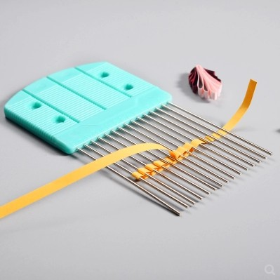 Large size tissue carding device card slot tissue knitting device handmade paper DIY making origami tools