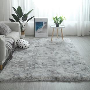 北欧ins地毯客厅茶几卧室满铺可爱网红同款床边毛毯地垫子大面积图片