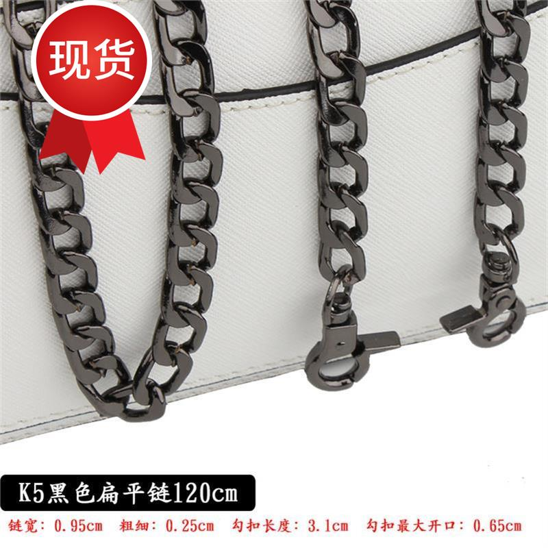 Bag chain single buy chain heavy chain messenger bag alloy small bag retro Girl Black single shoulder r metal chain belt