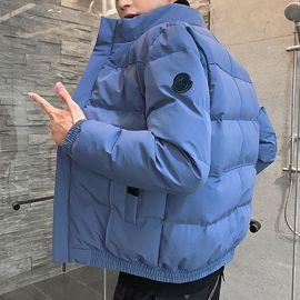 冬季外套男韩版潮流帅气羽绒棉服男装冬装加厚短款小棉袄男士棉衣