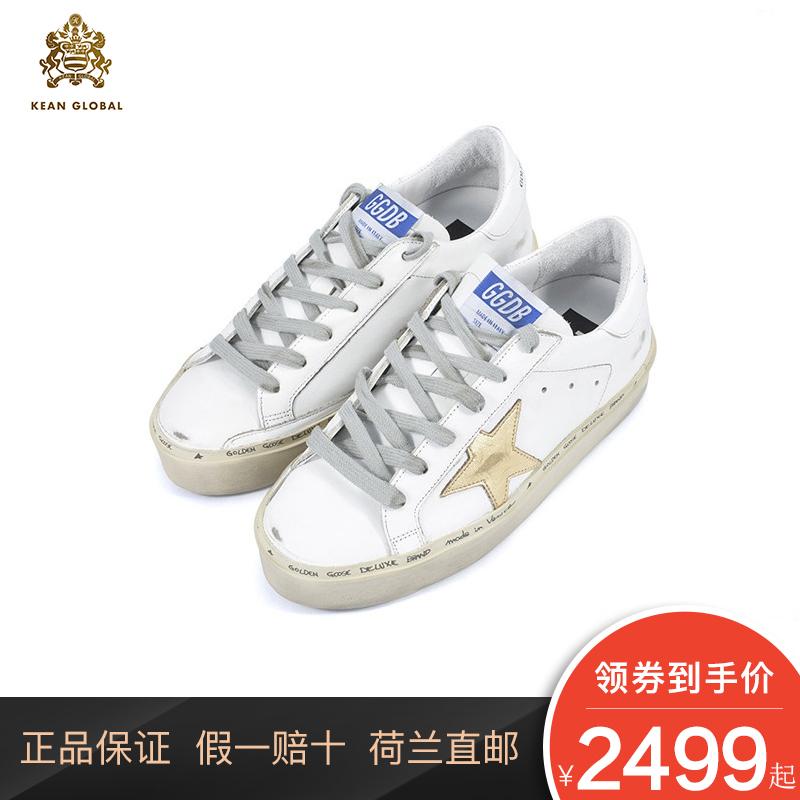 Golden Goose Deluxe Brand小脏鞋星星内增高厚底运动鞋板鞋女