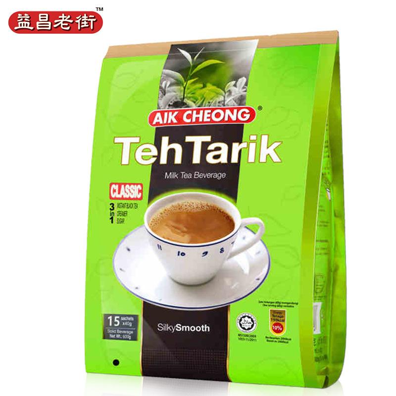 马来西亚进口益昌老街奶茶香滑奶茶南洋风味600g