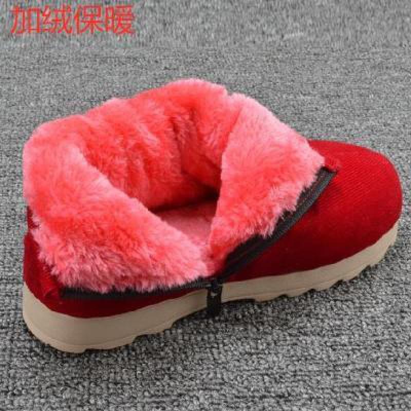 。家用拖鞋室内拖外出新款过冬轻薄试衣间女款女生个性棉鞋保暧居