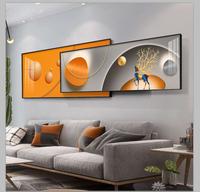 现代简约北欧沙发背景墙客厅装饰画质量如何