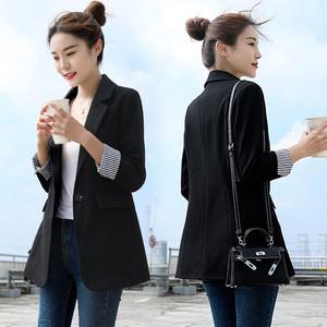 领5元券购买网红外套女秋装2019新款韩版小西服