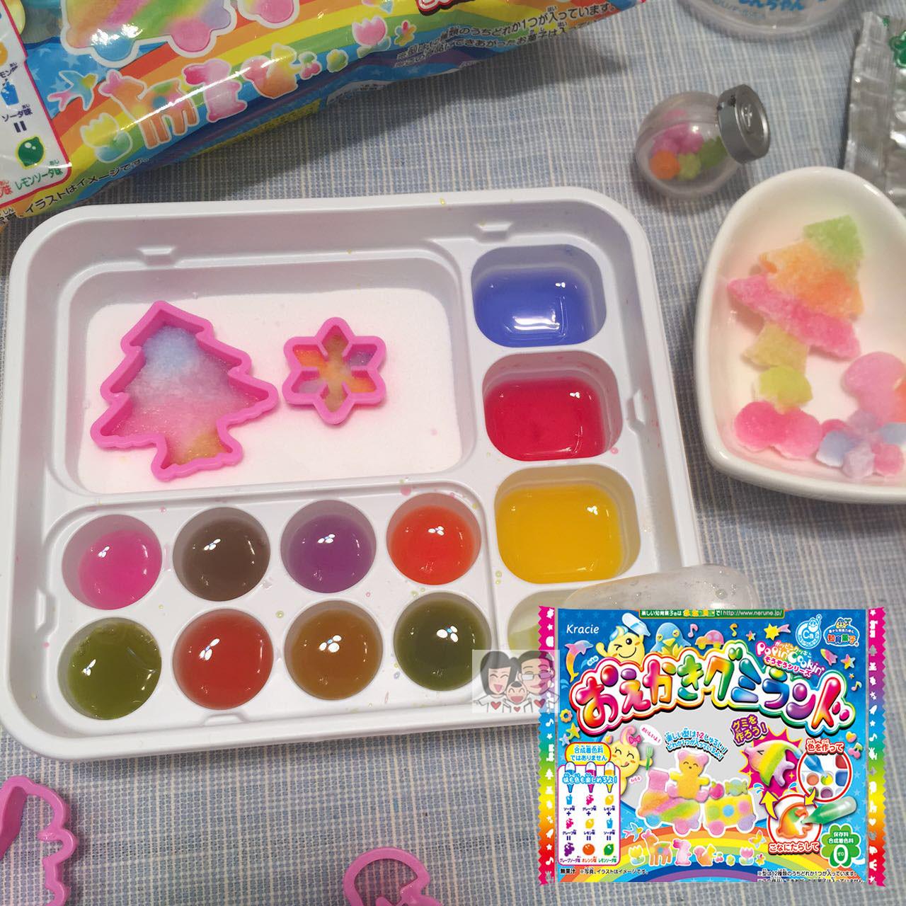 Импорт продовольствия японские закуски, известный Тан Сын Kracie DIY творческой палитре свежих ручной конфеты игрушки