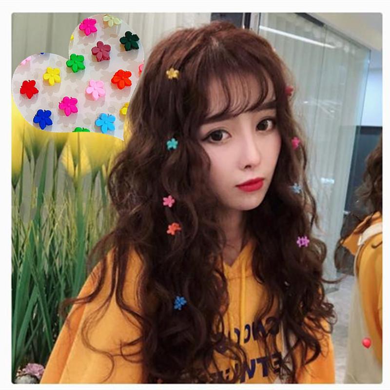 韩国发饰泫雅同款发夹超可爱花朵抓夹 套装甜美少女心发夹边夹