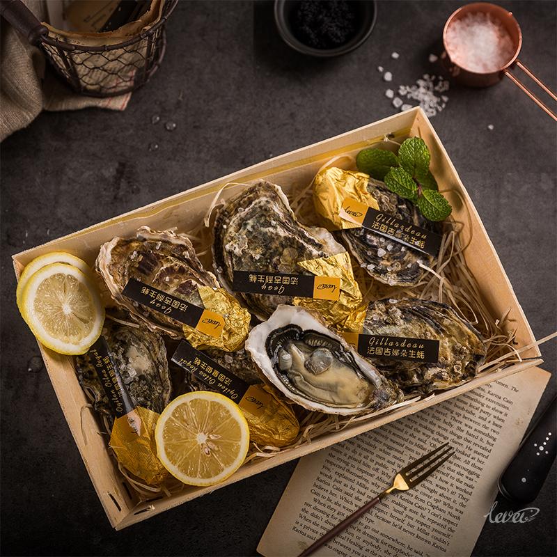 吉利皇御吉拉多法国生蚝即食 鲜活刺身 新鲜牡蛎N1号6只情侣套装