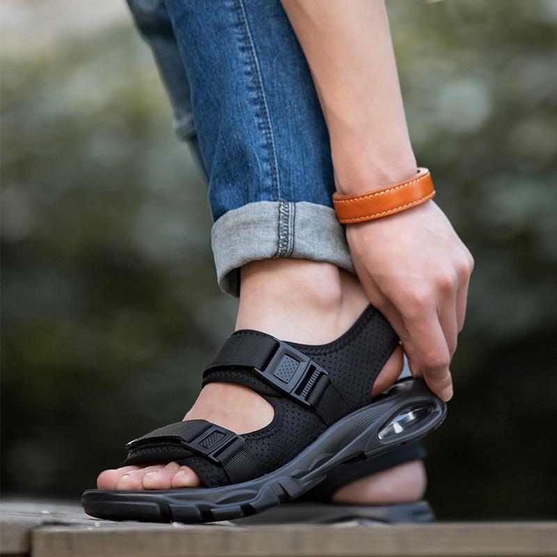 凉鞋男士2020夏季气垫新款时尚休闲沙滩鞋男韩版防滑软底鞋子男潮