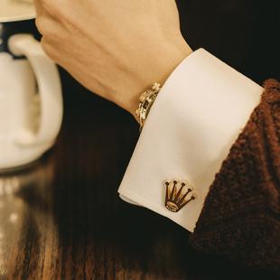 致敬品牌The Coronet Cuffflinks法式衬衫袖口袖扣男士西装袖钉