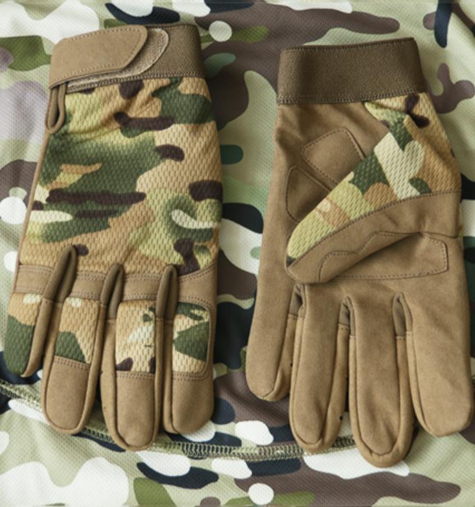 全地形迷彩手套CPMC军迷战术手套户外野战骑行登山手套德毅营