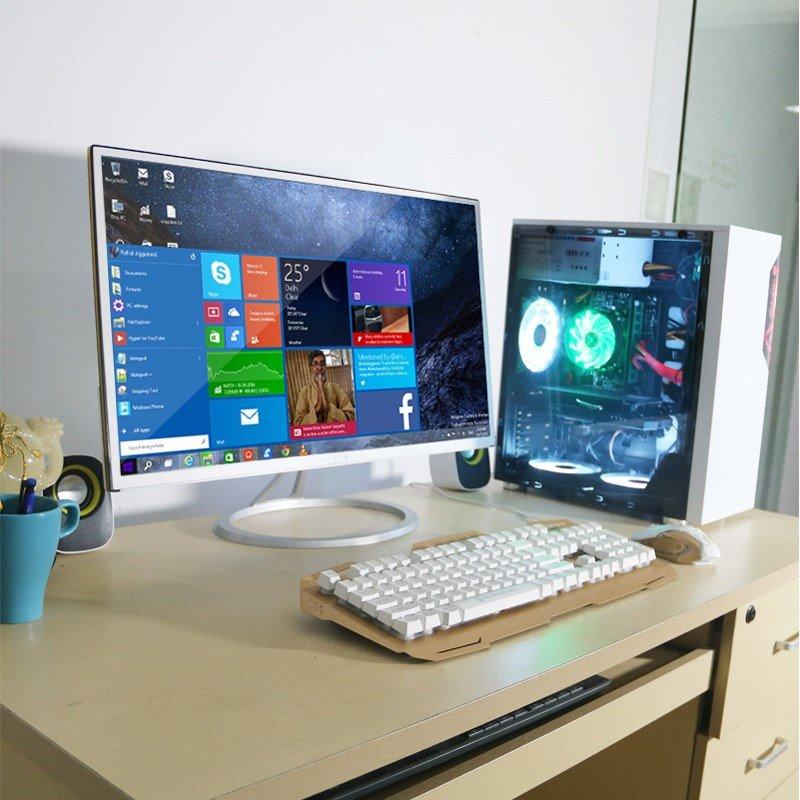 18年新款电脑台式全套游戏主机吃鸡高配i7网吧配置i5办公diy家用