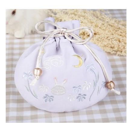 Retro style Hanfu Handbag Bag Drawstring womens accessories portable bag Bucket Bag Backpack Han element