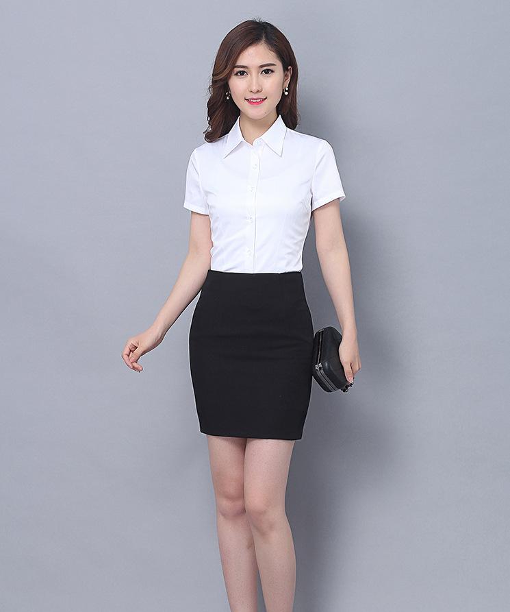简设2018中长款高腰职业裙包臀裙安全裤黑半身裙OL高弹力一步裙女
