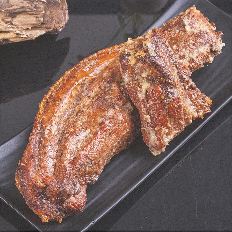 2件装 网红脆皮五花肉 脆皮烤肉熟食即食美食特产特色小吃C