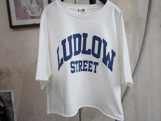L&W女装T恤衫例外LI WAI FASHION短款T棉质宽松T-shirt Kingdom
