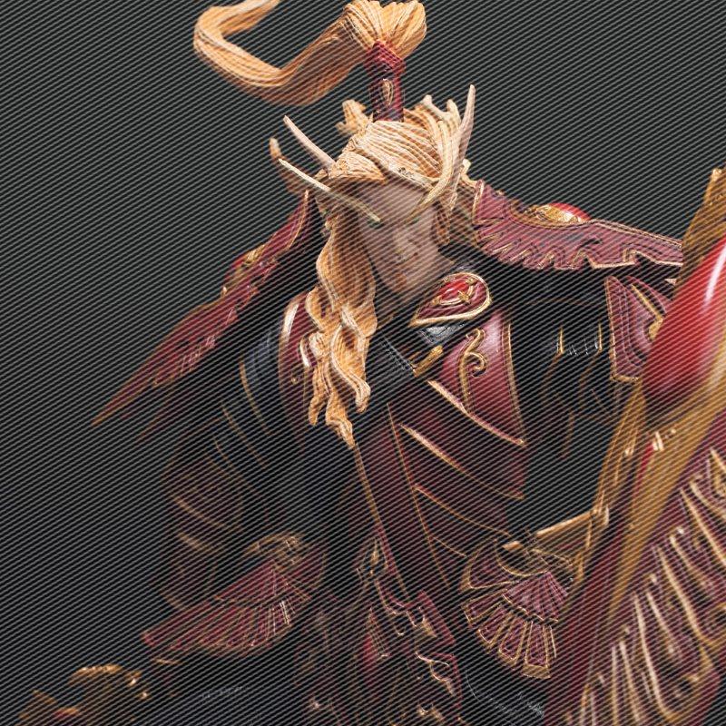 包邮 魔兽世界wow血精灵圣骑士周边法师玩偶手办公仔模型玩偶摆件