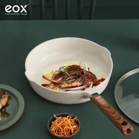 eox白玉兰麦饭石平底