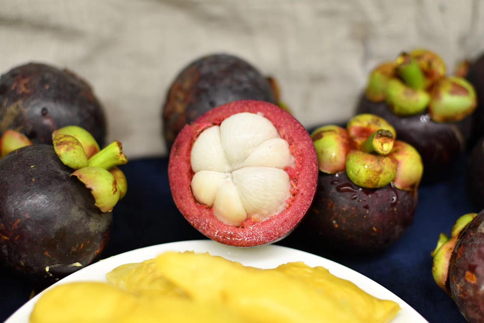 山竹一件待发西双版纳告庄进口泰国新鲜当季孕妇无籽水果5斤装竹