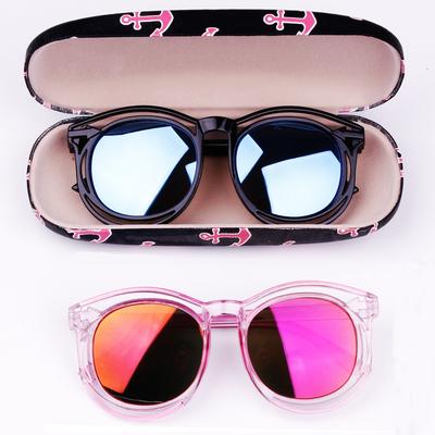 新款儿童眼镜太阳镜男童女童墨镜韩国防紫外线宝宝眼镜小孩遮阳镜