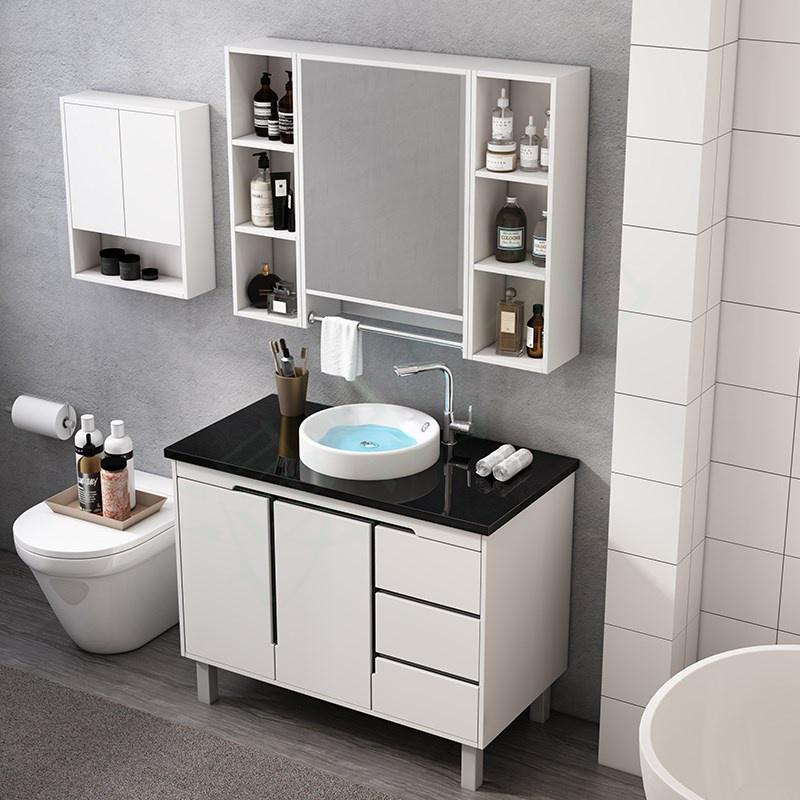 (用34.47元券)冲凉房镜子卫生落地组合式洗手盆