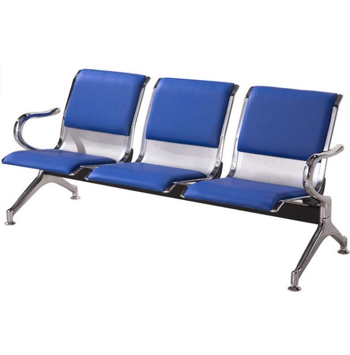 座发廊车座公共休闲长椅排椅系列候车站场地金属椅
