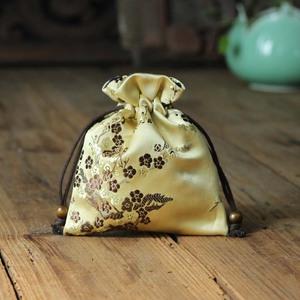 中式抽绳首饰袋锦囊小布袋复古2可爱绒布首饰收纳袋束口袋