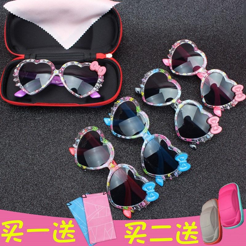 タオバオ仕入れ代行-ibuy99|太阳镜|伤眼小童眼镜紫外女孩防女宝宝童眼睛淘小小童女太阳镜2-10太阳墨