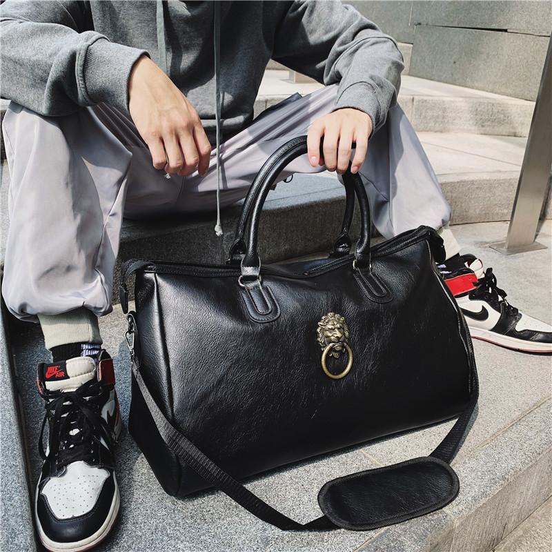 健身房运动包男便携网红潮牌衣服收纳小行李袋女士出差旅游旅行包
