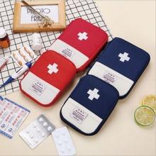 居家旅行出差便携式医药包 户外医疗包学生药品收纳包 随身小药包