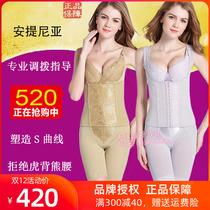 安提尼亚身材管理器女塑身衣模具正品内衣美体塑形衣三件套收腹