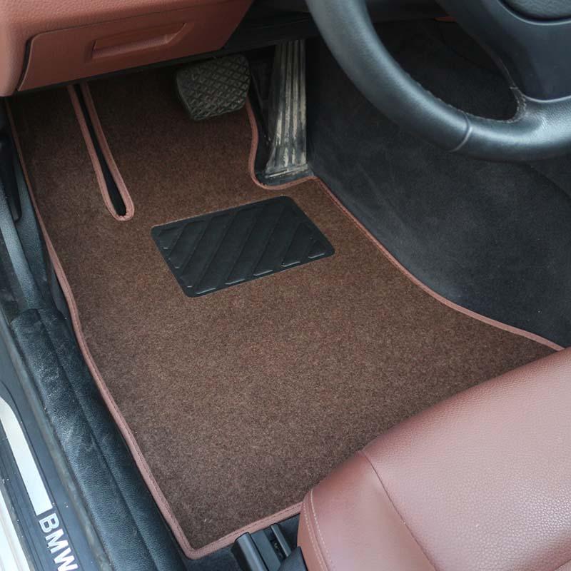 汽车绒面脚垫大众新帕萨特朗逸速腾迈腾凌渡地毯车垫专车专用,可领取1元天猫优惠券