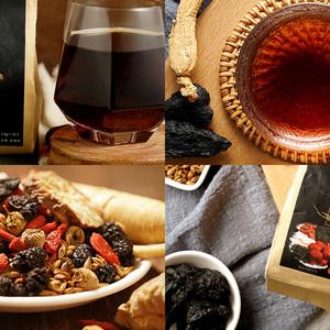 枸茶杞桑山椹药覆子盆大枣代用花茶组合大麦组合花草茶组合备