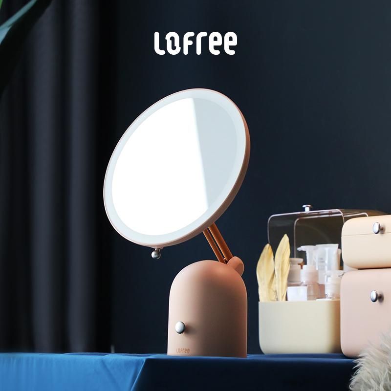 洛斐化妆镜led带灯补光镜,送女朋友实用礼物什么强?