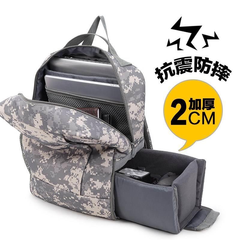 单反相机包 双肩摄影包电脑包 户外防水防盗大容量硬壳背包专业