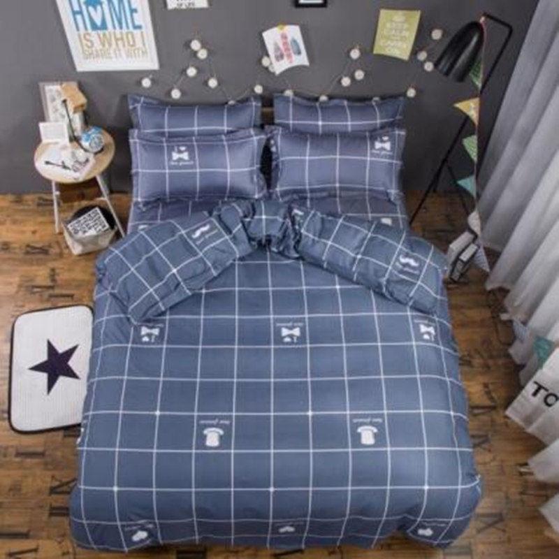 タオバオ仕入れ代行-ibuy99 床上用品 床上用品四件套 宿舍寝室单人床单三件套床上用品被套