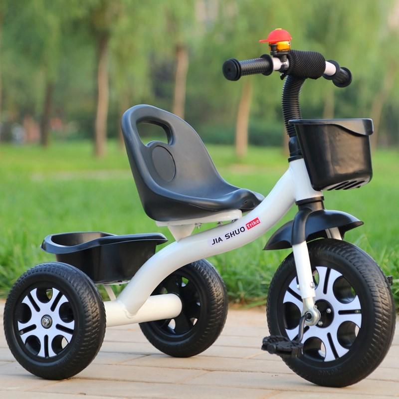 儿童三轮车手推小孩子脚踏车女宝宝小车子男童骑自行车1-2-3-5岁限时2件3折