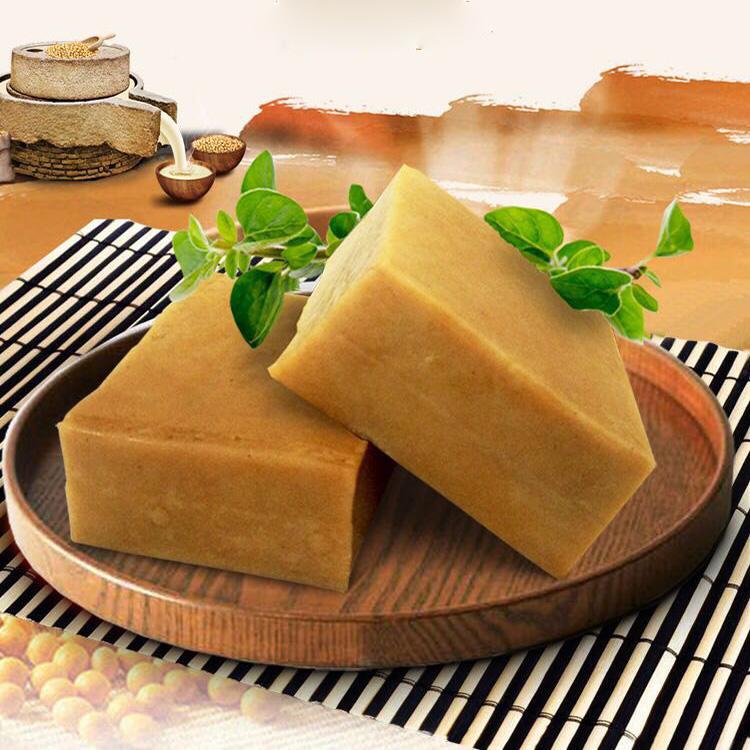 青龙农家石磨豆腐干盐晒传统原味东北咸豆块散装凉拌热炒劲道下饭