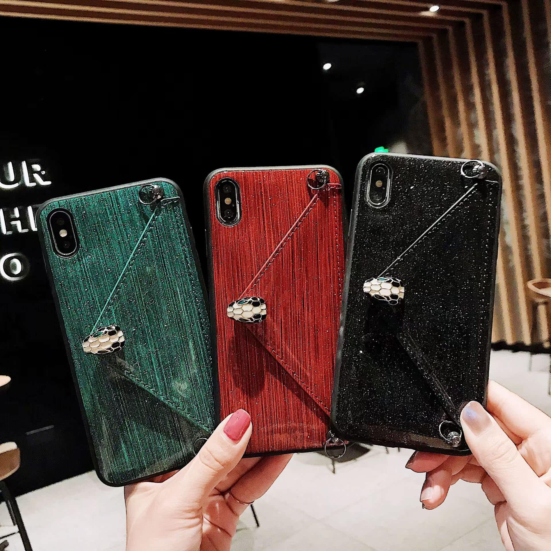 奢华iphonex手机壳xs max斜挎钱包保护套适用7plus6p皮套