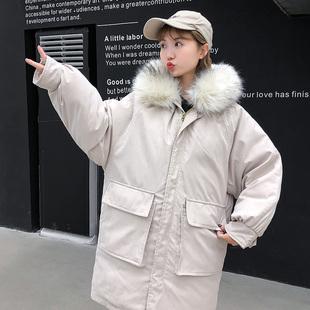 怀孕后期中长款 孕妇棉服加厚宽松棉衣2019冬季 孕妇装 9个月 外套3