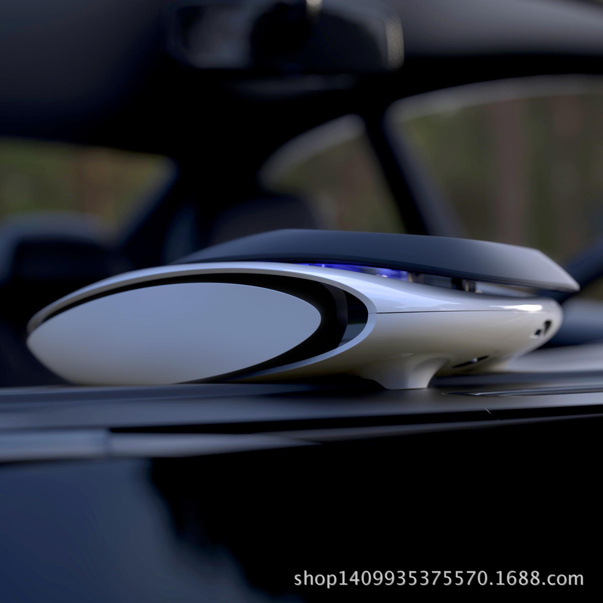[元素部落阁车用氧吧,空气净化器]汽车用品太阳能车载空气净化器汽车香水月销量0件仅售206.59元