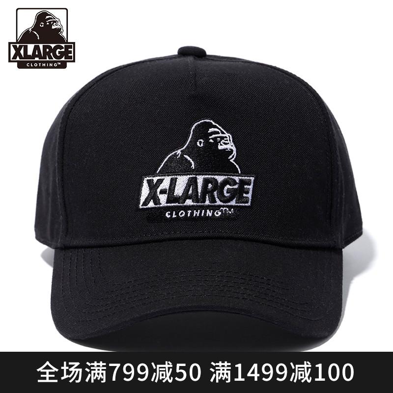 XLARGE 潮流男装 19年春季新品 潮流时尚休闲刺绣卡车帽