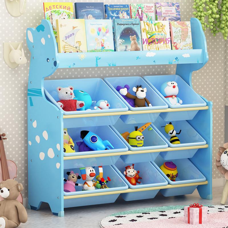 玩具多层置物架子宝宝玩具架收纳架