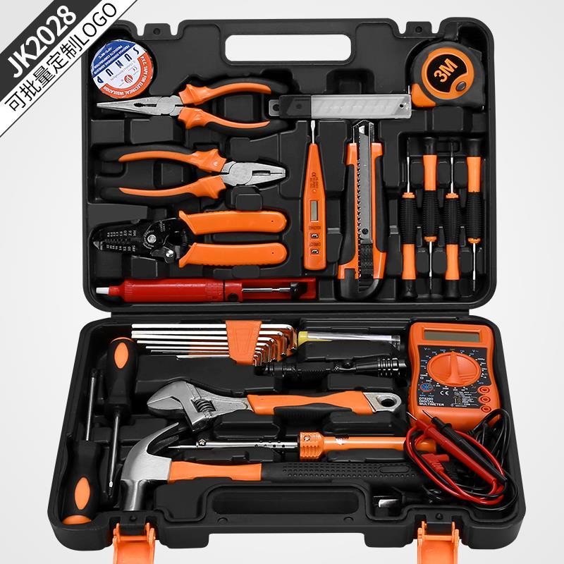木工钳工等维修用手工电动工具电工具使用五金工具套装家用