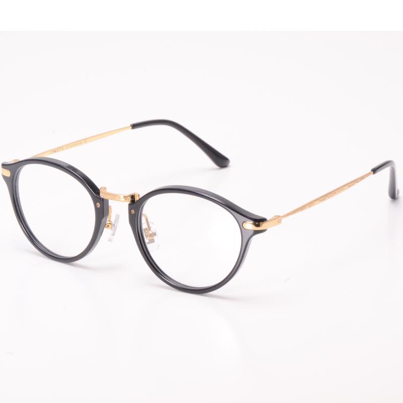 Borzi retro oval frame glasses frame mens fashion short-sighted glasses small frame easy to match height lens women