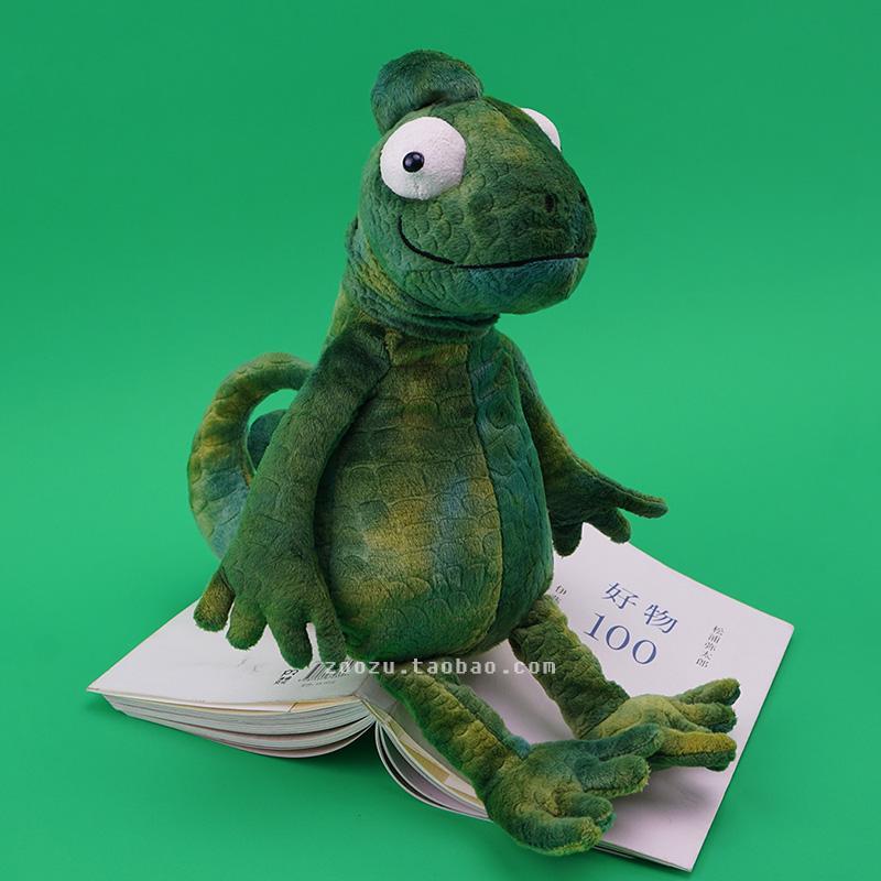好物丑萌蜥蜴先生变色龙玩偶男生个性搞怪礼物创意动物公仔送女生图片