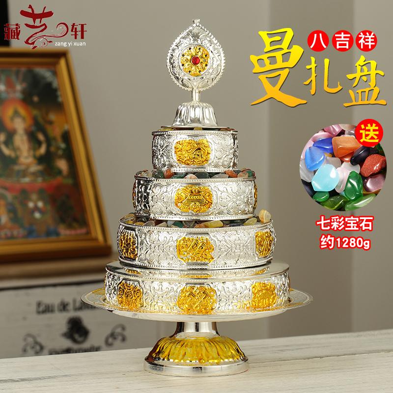 Круги с буддийскими текстами Артикул 593033223177